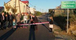 Uroczyste otwarcie nowej drogi relacji Jelonko - Tuchlino